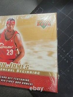 1-03/04 Upper Deck Phenomenal Beginning Lebron James Sealed Box 20 Card Set RC