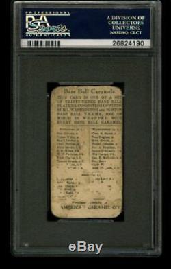 1910 E91 American Caramel HONUS Hans WAGNER Pittsburgh Set C PSA A