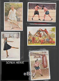 1932 Sanella Margarine Babe Ruth Type B Psa 5 Ex & Max Schmeling In Full Set-112