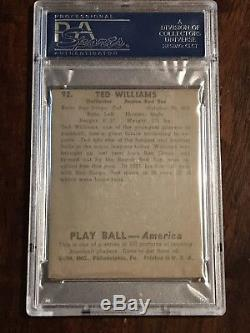 1939 Play Ball COMPLETE GRADED SET Williams RC DiMaggio Both PSA 6 No Qualifiers