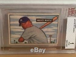 1951 Bowman Baseball Complete Set(324) With Graded MANTLE, MAYS & FORD