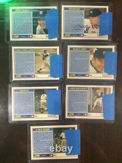 1952 MICKEY MANTLE Player Issued Score Rookie Rare SSP