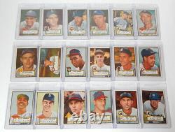 1952 Topps Baseball Complete Set (407) Mantle PSA 2.5 Mays PSA 4 Robinson PSA 4