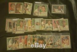 1952 Topps Set Lot 200 cards vg PSA Hi 336 Duke Snider Stars 5th series included