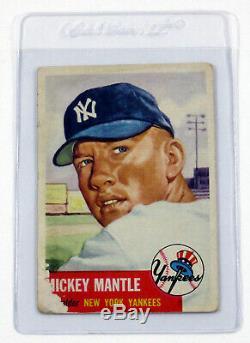 1953 Topps Baseball Complete Set (1-280) Mays Mantle Robinson