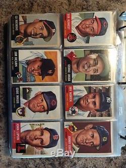 1953 Topps Baseball Near Complete Set (259/274) READ DESCRIPTION FOR MISSING