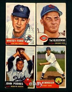 1953 Topps Baseball Near Complete Set, Jackie Robinson, Satchel Paige BV $15,855
