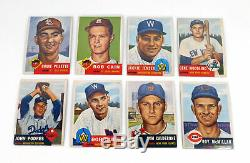 1953 Topps Complete Deans Baseball Set 274 Mantle PSA 4 Mays 6 OC Robinson PSA 4