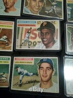 1956 Topps Baseball Card complete set of 340/340 vintage cards in Ex+ condition