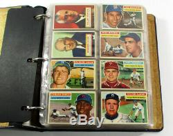 # 1956 Topps Baseball Complete Set (1-340) Mantle Koufax Mays