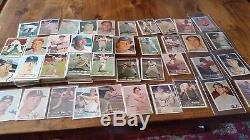 1957 COMPLETE baseball set with duplicates, mid grade and better, app. 600 card