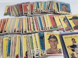 1958 Topps Baseball Card Partial Set Good-VG Condition