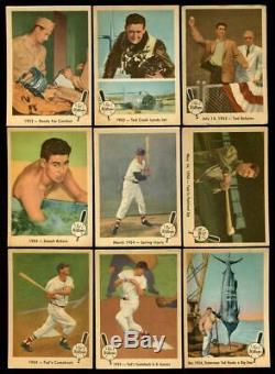 1959 Fleer Ted Williams Complete Set 80/80 With #68