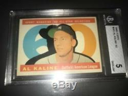 1960 TOPPS BASEBALL COMPLETE SET All 572 cards EX Cond(3 Graded). Very clean set