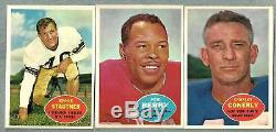 1960 Topps Complete Football Set Nm NM/MT with PSA 8 OUTSTANDING