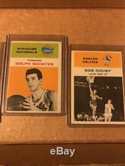 1961-62 Fleer Basketball Complete Set! Very Nice