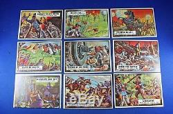 1962 Topps Civil War News COMPLETE SET with Checklist VG/Ex Condition