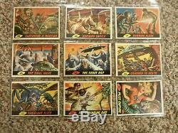 1962 Topps Mars Attacks 55 Card Complete Set