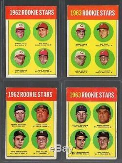 1963 Topps Baseball Complete Set