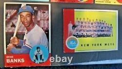 1963 Topps Baseball Near Complete Set (570/576) Mantle Psa 6 Rose Rc Sharp Exmt