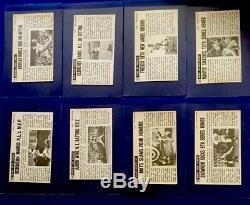 1964 Topps Giants Complete Set (1-60) Ex-ExMt Koufax Mays Mantle Aaron Robinson