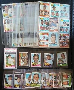 1965 Topps MICKEY MANTLE #350 PSA 4 + Near Complete Set MAYS AARON 880 Cards