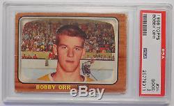 1966-67 Topps Hockey COMPLETE 132 Card Set SCARCE! BOBBY ORR #35 Key ROOKIE PSA