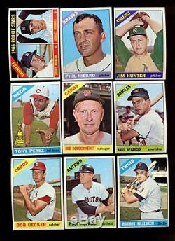 1966 Topps Baseball Near Complete Set 593598 Nm 51292