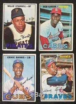 1967 Topps Baseball Complete Set