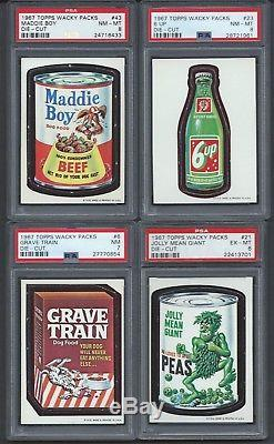 1967 Wacky Packages Die Cut Complete Psa Graded Master Set 56/56 Revise10/4/2018