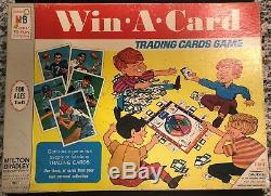 1968 Milton Bradley Topps Win A Card Game. Complete! Nolan Ryan, Namath