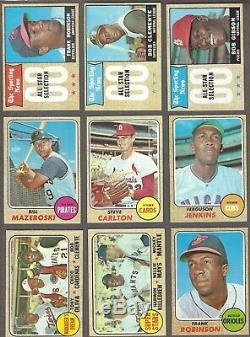 1968 Topps Complete Set