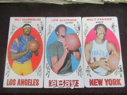 1969-70 Topps Basketball Complete Set Lew Alcindor #25 Rc (abdul-jabbar) Vl698