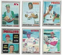 1970 Topps Baseball Complete Set EX NM-MT including 15 PSA GRADED CARDS RYAN