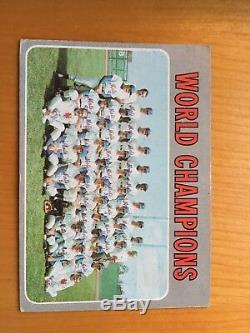 1970 topps baseball cards complete set