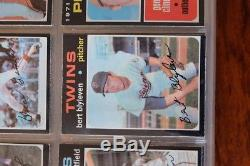 1971 O-pee-chee Baseball Complete Set #1 To #752 High Grade Ex To Nm No Junk