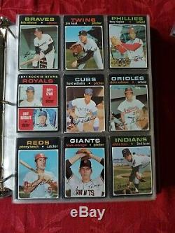 1971 Topps Complete 752 Card Set Near Mint Psa 7 Baylor / Baker Rc Sharp