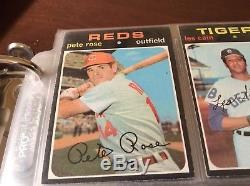 1971 Topps Complete Baseball Card Set A Very Good Set