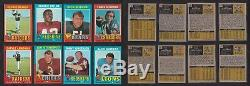 1971 Topps Football Mid Grade+ Complete Set 263 Cards 47 PSA Bradshaw Greene
