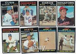 1971 Topps Upper Mid-Grade Complete Set (752) Gorgeous set with 13 graded cards