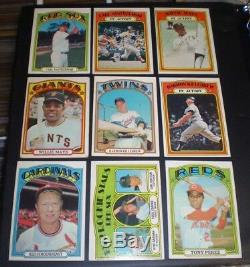 1972 Topps Baseball Complete Set (787 Cards) OVERALL EX+ Super set