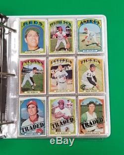 1972 Topps Baseball Complete Set Stunning High Grade 787 Cards -been Stored Away