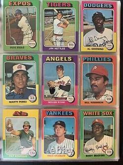 1975 Topps Baseball Complete Set 660 EXMT -NM Overall Brett