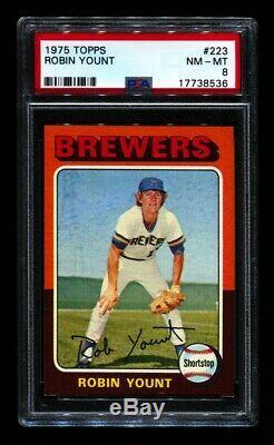 1975 Topps Baseball Complete Set Psa 8 & 9 Brett Yount Gpa 8.02 660 J2m