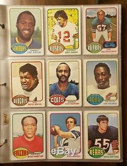 1976 Topps Complete Football Set Walter Payton Rookie Card