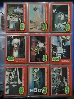 1977 STAR WARS Trading Cards Series 1 5 Complete 330 Card Set G to VG+