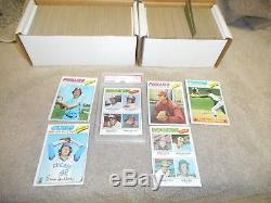 1977 Topps Baseball Cards Complete Set 660 VG-Ex Cond. Rookie Andre Dawson PSA 6