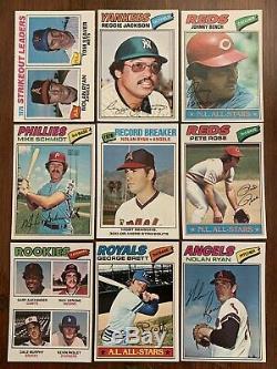 1977 Topps Baseball Complete Set Near Mint