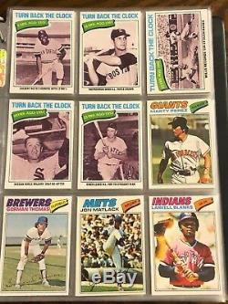 1977 Topps Baseball Complete Set Nrmt Mint Murphy Dawson Rookie Brett Rose Ryan