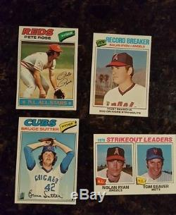 1977 Topps Baseball Complete set nrmint to nrmint/mint 1-660 Dawson Ryan Brett